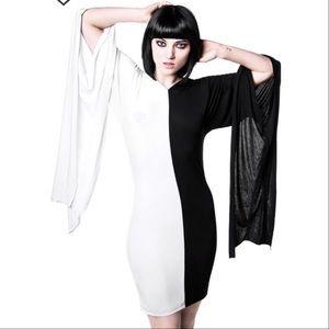 BF & CM Sale❗️🎃KillStar Hooded Yin Yang Dress